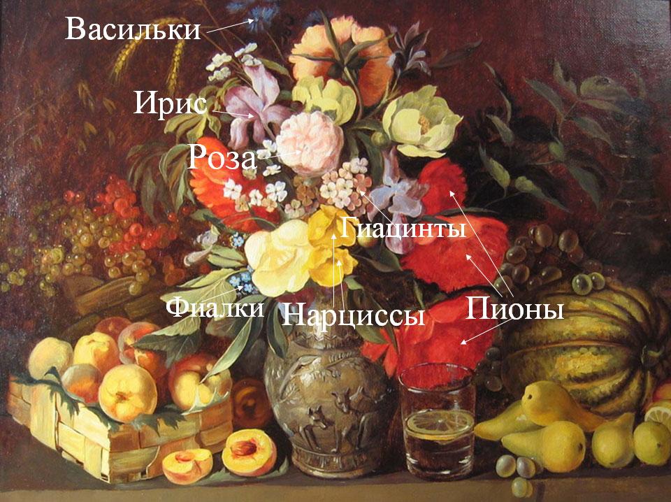 Цветочный вернисаж - слайд 18