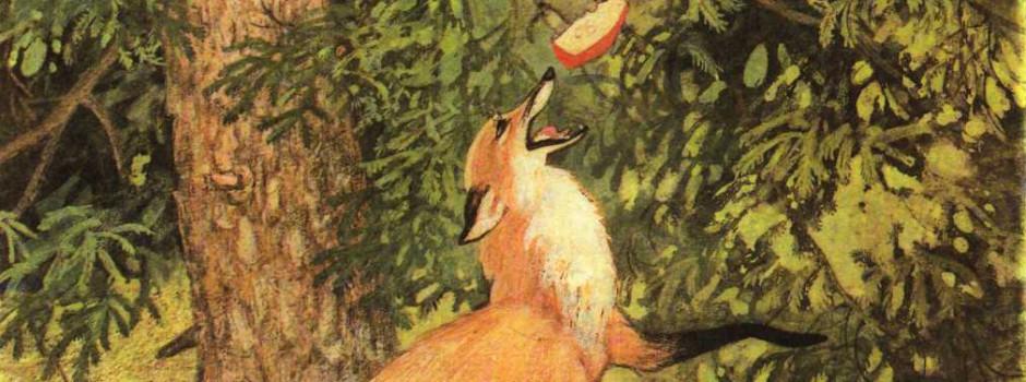 Разработка урока — Басня И.А. Крылова «Ворона и Лисица»